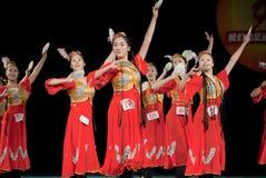 Small dish--Xinjiang Uygur dance Royalty Free Stock Photos