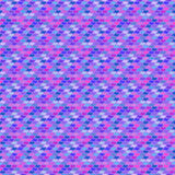 Small ditsy pattern with abstract shapes Stock Photo