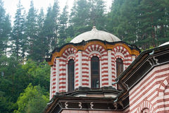 Small dome of the main cathedral in the Rila Monastery, Bulgaria Stock Photography