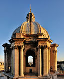 Small Dome on the Saint Peter, Rome Stock Image
