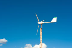 Small domestic wind generator Royalty Free Stock Photos