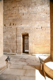 Small door in Edfu Temple royalty free stock images