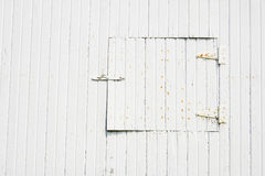 Small door on old barn Royalty Free Stock Images