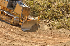 Small Dozer Royalty Free Stock Image
