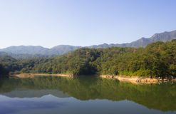 Small Dragon Lake in XiaMen Royalty Free Stock Images