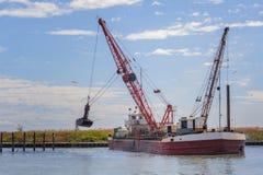 Small dredge marine Stock Photography