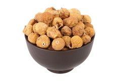 Small dried fig Stock Photography