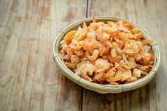 Small dried shrimp Stock Images