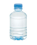 Small drinking water bottle Stock Images