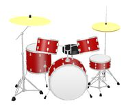 Small drumset Royalty Free Stock Photo