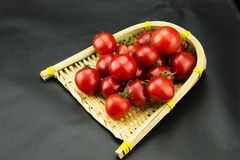 The small dustpan tomatoes Stock Photo