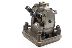 Small dusty theodolite Stock Photo
