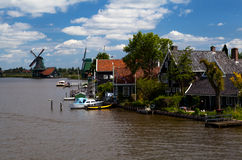 Small Dutch town Stock Photography