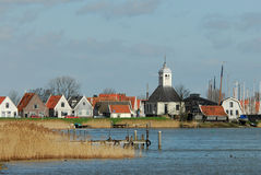 A small dutch village. Near amsterdam in the netherlands called Durgerdam royalty free stock image