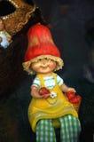 Small dwarf figure Royalty Free Stock Photo