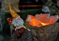 Small dwarf figure Stock Photos