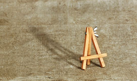 Small easel Royalty Free Stock Photography