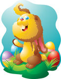 Small easter bunny Royalty Free Stock Images