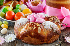 Small Easter cake Royalty Free Stock Photo