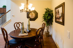 Small Eating Area in a Nice Home stock photography