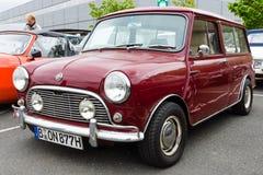 Small economy car Mini Stock Photo