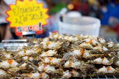 Small egg crabs Stock Photography