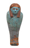Small Egyptian coffin for a hawk isolated. Royalty Free Stock Photography