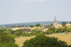 Small Eifel Village, Germany Stock Photography