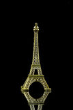 Small Eiffel tower isolated Royalty Free Stock Image