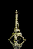 Small Eiffel tower isolated Royalty Free Stock Images