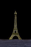 Small Eiffel tower isolated Royalty Free Stock Photo