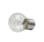 Small electric bulb Royalty Free Stock Photo