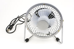 Small electric fan Royalty Free Stock Photo