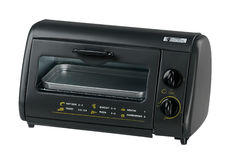Small electric oven. A small electric oven for small kitchen stock photos