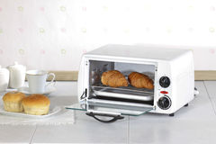 A small electric oven Royalty Free Stock Image