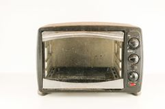 small electric oven Royalty Free Stock Photo