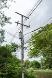 Small electric transformer Stock Photography