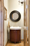 Small Elegant Bathroom Stock Photography