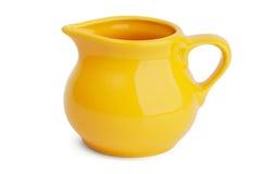 Small elegant jug of milk Stock Images