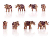 Small Elephant Models Royalty Free Stock Images