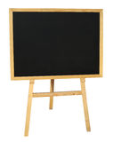 Small empty black wooden blackboard Stock Images
