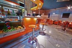 Small empty cafe-bar Stock Photos