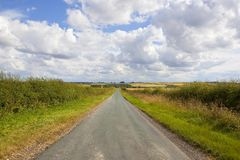 Scenic country road Stock Image
