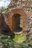 Small entrance of the Roman city of Diocletianopolis, town of Hisarya, Bulgaria. Small entrance of the Roman city of Diocletianopolis, town of Hisarya, Plovdiv Royalty Free Stock Photography