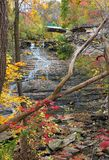 Small Escarpment Cascade Stock Images