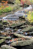 Small Escarpment Cascade & Rocks Stock Image