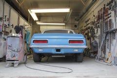 Small Established Garage and Car Restoration Stock Photos