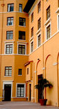 Small European Hotel Royalty Free Stock Images