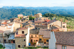 Small european town in Spain Stock Photography