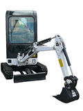 Small excavator Royalty Free Stock Images